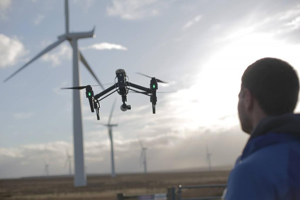 aerial drone filming scotland