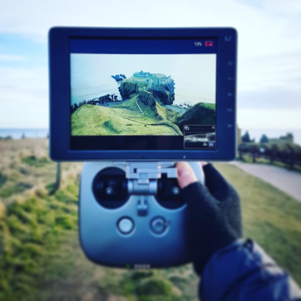 Scotland aerial filming